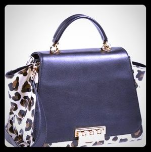 Zac Posen Eartha Leopard Print bag